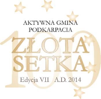 ZŁOTA SETKA GMIN PODKARPACIA 2014 – ŁAŃCUT WCZOŁÓWCE